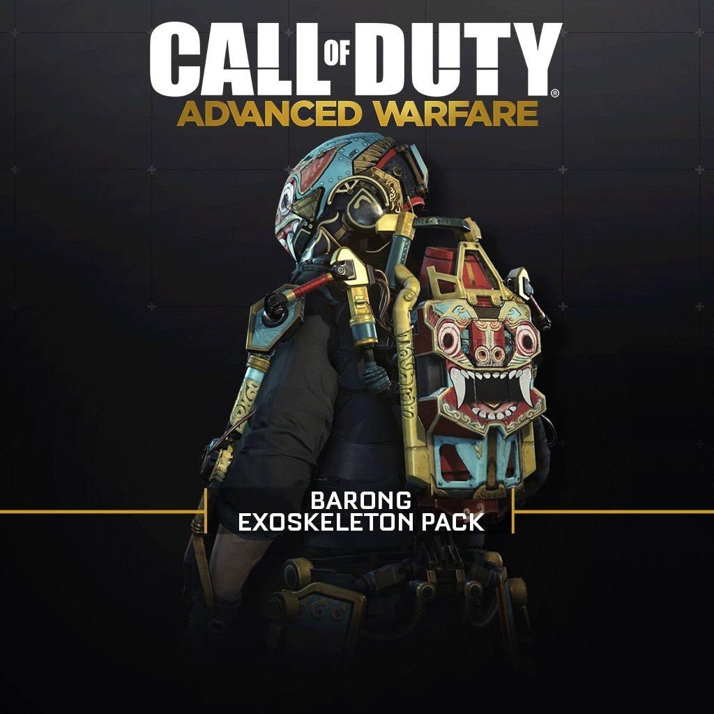 Call Of Duty: Advanced Warfare: Barong Exoskeleton Pack (Wip) - PS4 [Digital Code]