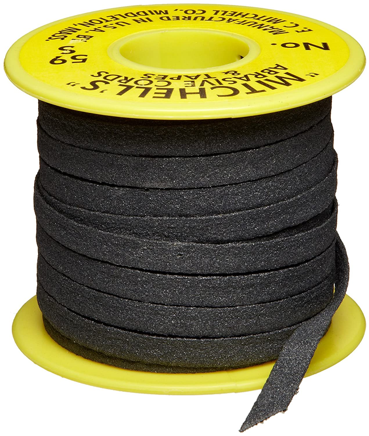 Mitchell Abrasives 59-S Flat Abrasive Tape, Silicon Carbide 150 Grit 1/4