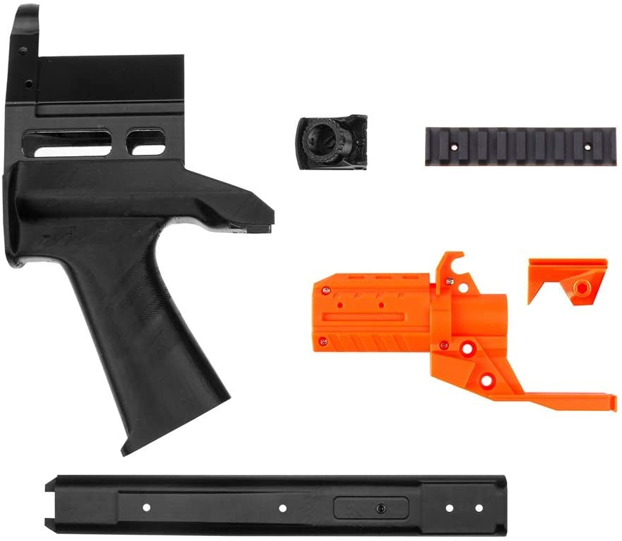 WORKER No.128 JSSAP SM Front Tube Kit (with Front Tube Adaptor) for Nerf Stryfe