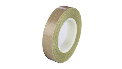 Teflon 21-3S Teflon Coated Tape, Silicone Adhesive, 11.75