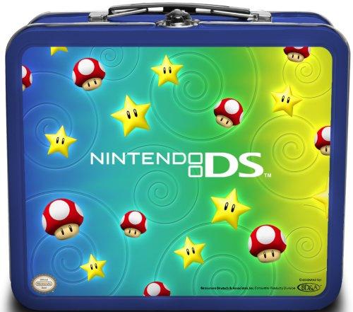Nintendo DS Lite Tin Starter Kit Stars and Mushrooms