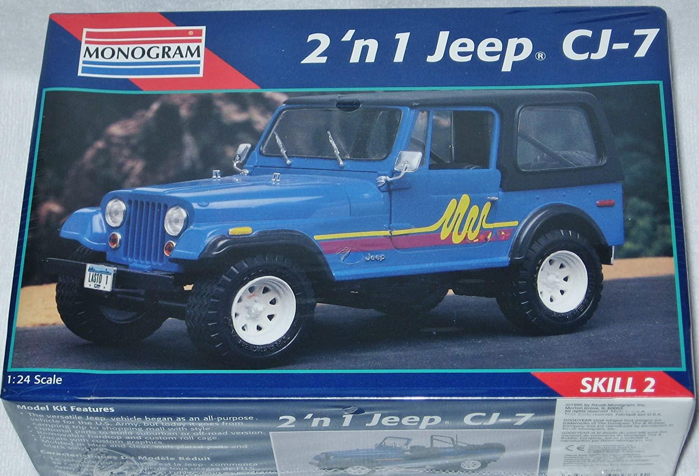 Monogram Model Jeep Cj-7 #2966,,new