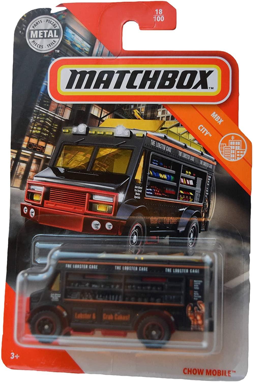 Matchbox City Series Chow Mobile 18/100, Black
