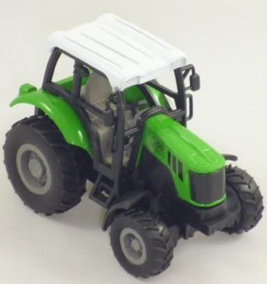 KandyToys Green Die Cast Pull Back Tractor Not Suitable for Children Under 3 Years (HL174)