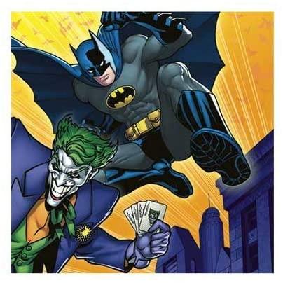 Batman The Dark Knight Beverage Napkins, 16ct