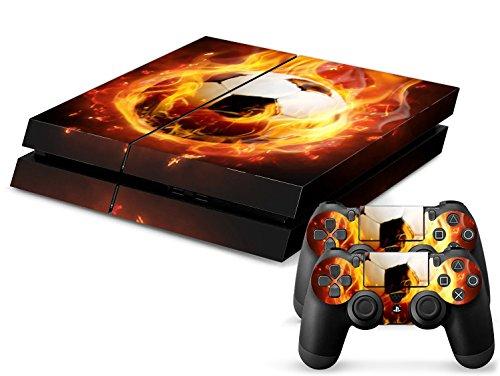 CSBC Skins Sony PS4 Design Foils Faceplate Set - Soccer Design