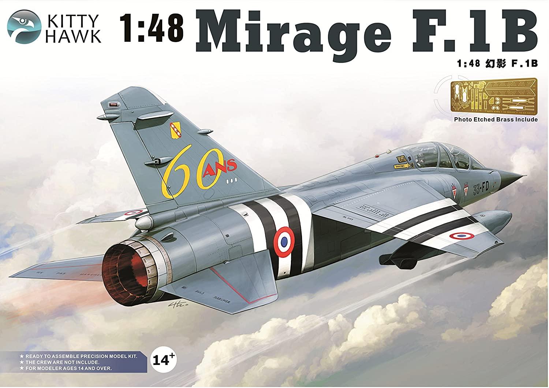 Kitty Hawk KH80112 1:48 Mirage F.1B Model KIT