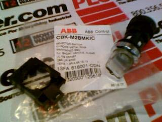 ASEA BROWN BOVERI CBK-M2BMKIC SELECTOR Switch 2POSTION Illuminated Clear