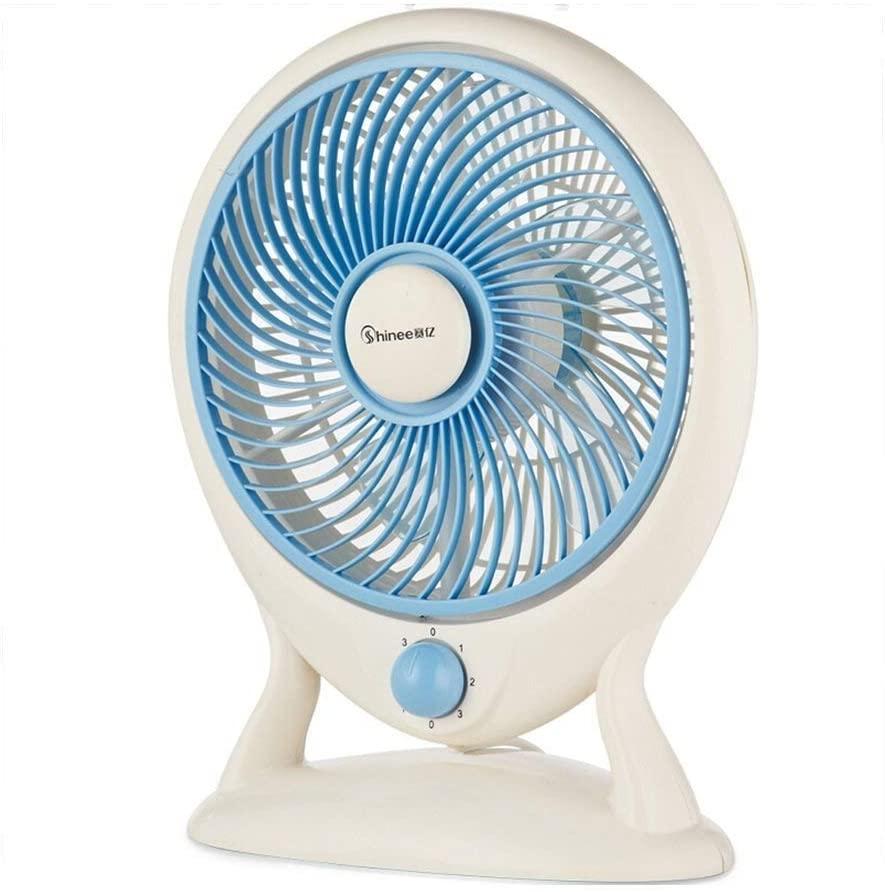 Practical Electric Fan, Small Fan, Silent Mini Fan, Desk Fan, Portable Small Fan for Living Room Bedroom Office, BOSS LV