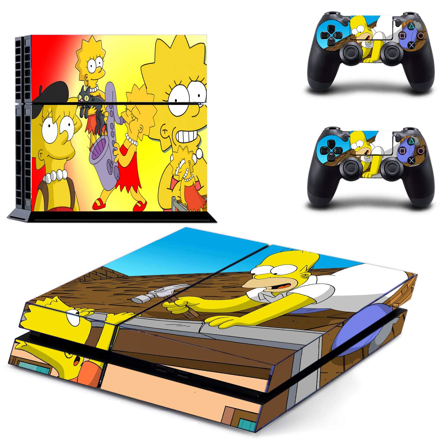 Cartoon Funny Series PS4 Whole Body Vinyl Skin Sticker Decal Cover for Playstation 4 System Console and Controllers by KALINDA MODI_Only I have