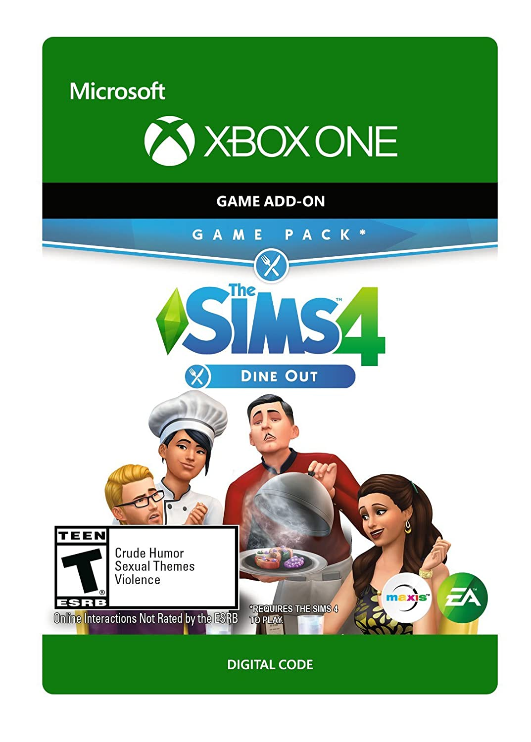 The Sims 4 Dine Out - Xbox One [Digital Code]