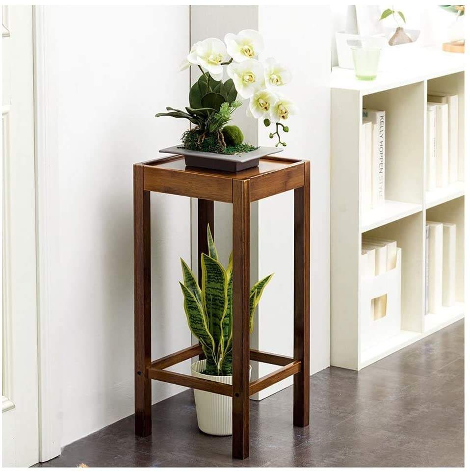 QNN Plant Stands,Solid Wood Simple Balcony Multi-Layer Flower Stand Floor-Standing Living Room Simple Flower Shelf Indoor Flower Pot Shelf Rack Decorative Flower Pots,313166Cm,313166Cm
