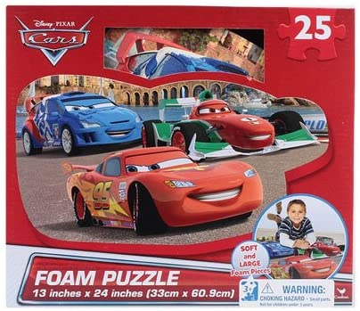 Disney Cars 25-Piece Floor Foam Puzzle Mat