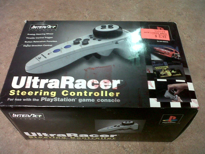 UltraRacer Handheld Racing Wheel Playstation Controller