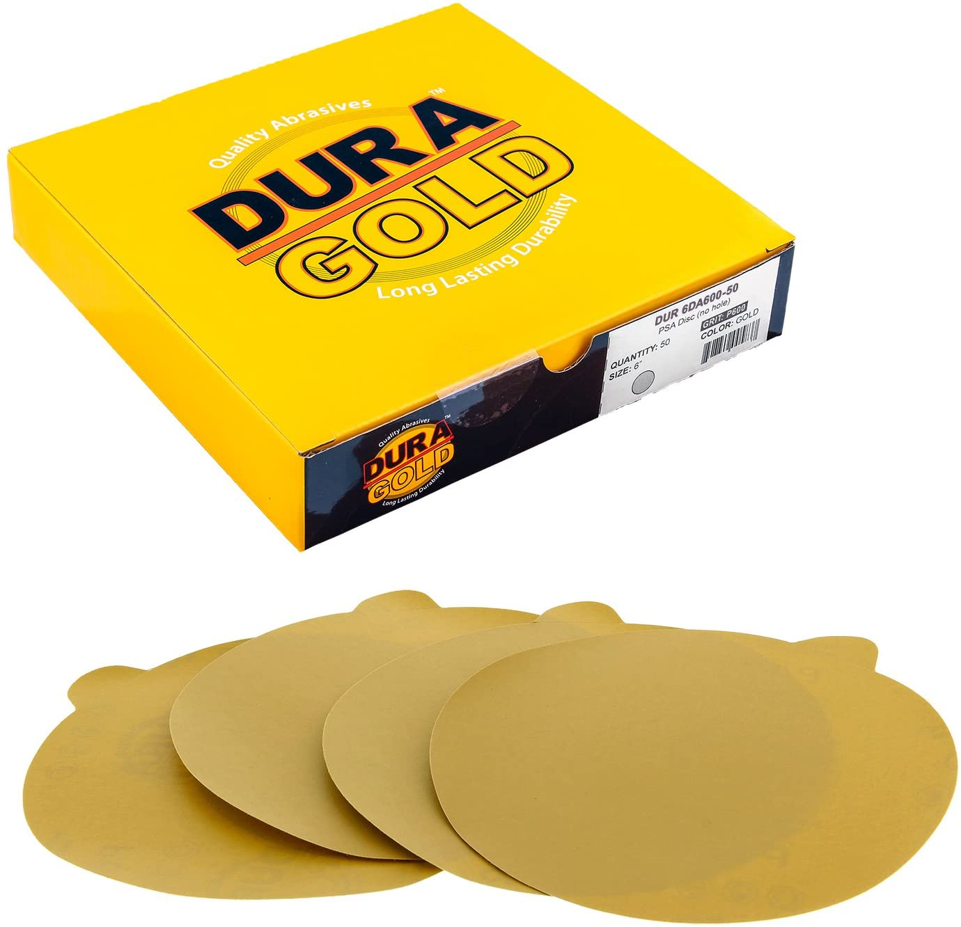 Dura-Gold Premium - 600 Grit 6