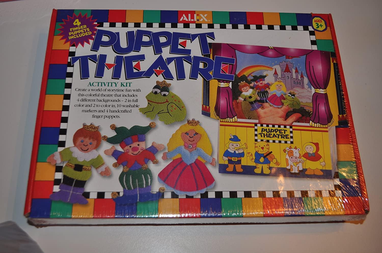 Puppet Theatre & Theatre Activity Kit