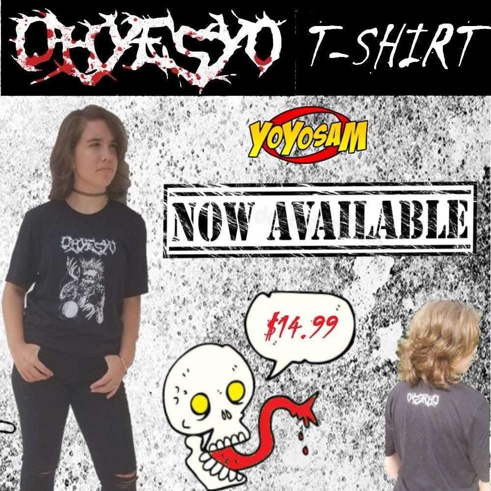 OHYESYO YoYo Company Black T-Shirt- Tattoo Style Illustration with The Logo on The Back - Many Sizes! (Adult Medium)
