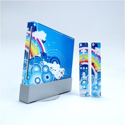 Wii Dual Colored Skin Sticker,Wii0620-15