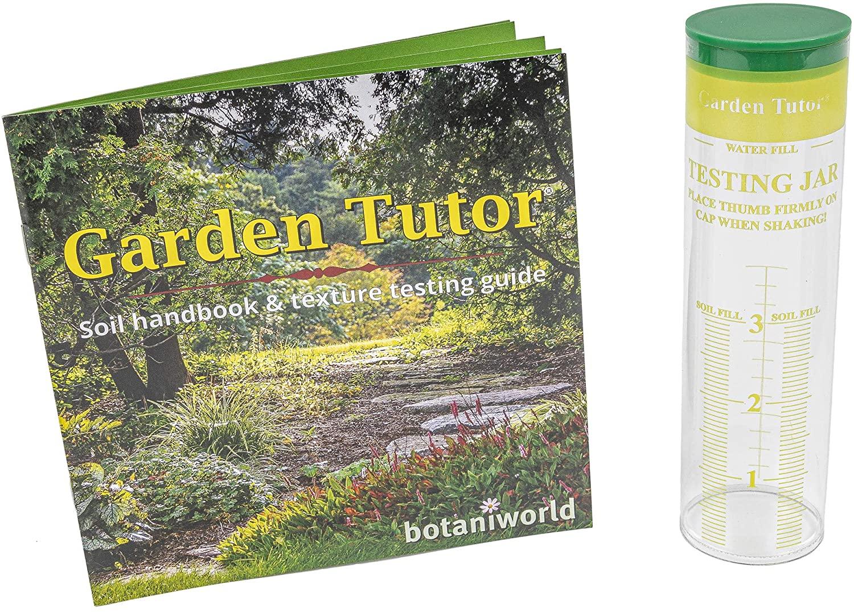 Garden Tutor Soil Texture Testing Jar Kit