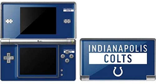 Skinit Indianapolis Colts Blue Performance Series Skin for DS Lite - Officially Licensed NFL Gaming Decal - Ultra Thin, Lightweight Vinyl Decal Protection
