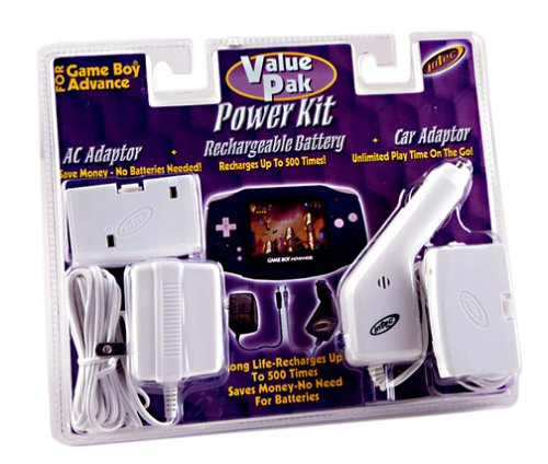 GameBoy Advance Power Kit Game Pak - Arctic
