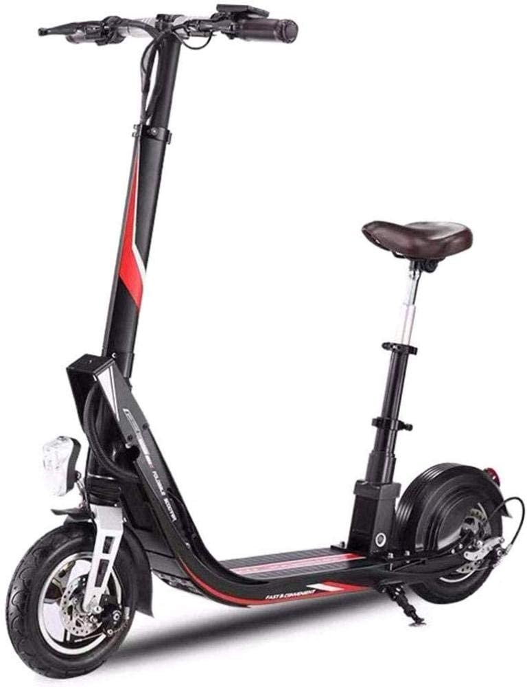 qx Scooters Scooter Electric Scooter, Foldable Electric Scooter, 400W Brushless Motor, 10'' Air Filled Tires, Max Speed 25Km/H, Electric Kick Scooter for Adult with Lights and Display