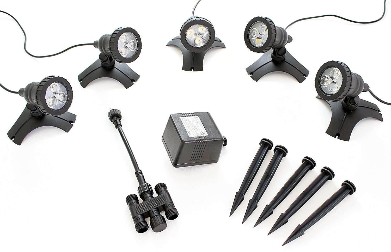 Pond Force LED Pond Light Kit (5 Light Kit)