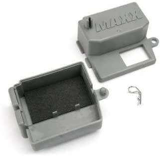 Dubblebla Traxxas 5159 Receiver Box, Clip and Foam Pad, T-Maxx 3.3