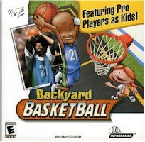 BRAND NEW Humongous Entertainment Backyard Basketball Real Full-Court Gameplay Slam Dunk Award-Winning