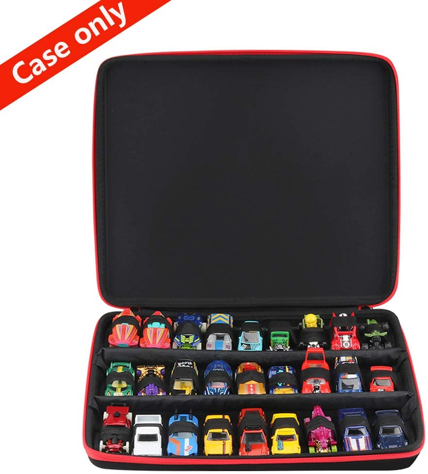 Brappo Hard Storage Carrying Case for Hot Wheels 27 Cars Gift Pack(Box Only)