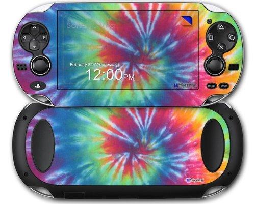 Tie Dye Swirl 104 - Decal Style Skin fits Sony PS Vita
