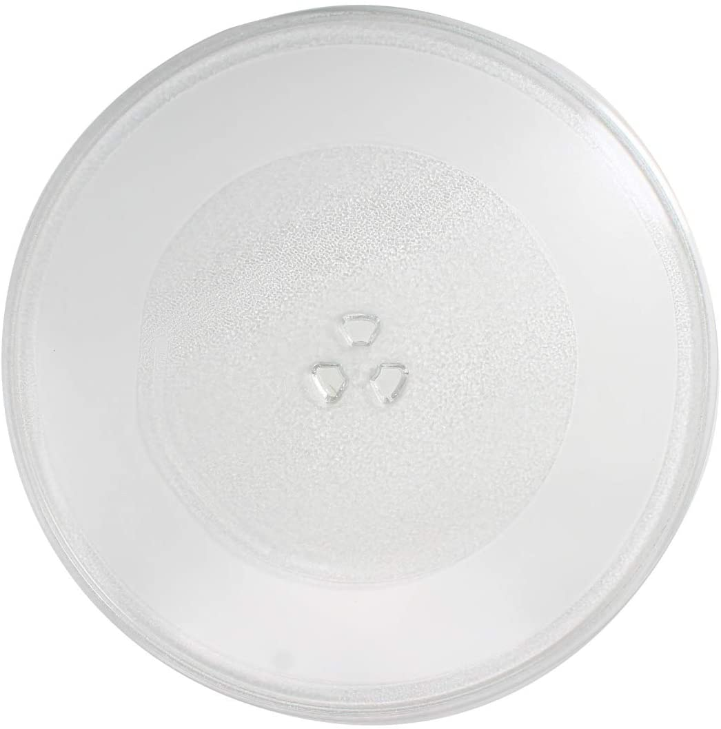 NTNT-A108 Microwave Glass Turntable Plate Replacement for Sharp R410FW - Compatible with NTNT-A108 14 1/8 Inch Glass Tray