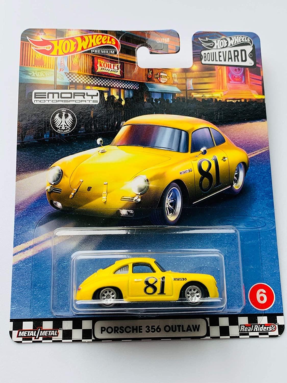 HW Boulevard Series Emory Motorsports Porsche 356 Outlaw, Yellow