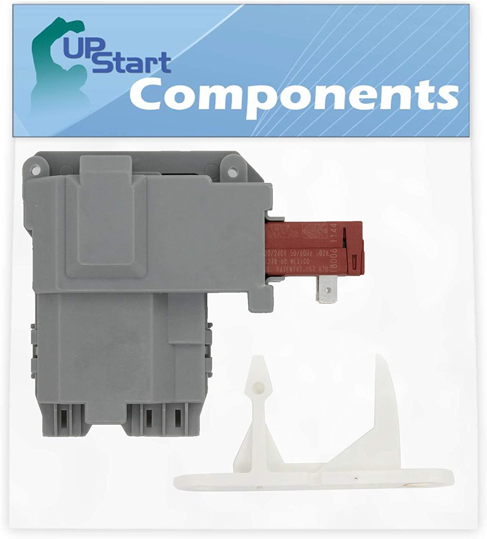 131763202 Washer Door Latch & 131763310 Door Striker Replacement for Frigidaire FAFW3574KR0 Washing Machine - Compatible with 131763202 Door Lock Switch & 131763310 Door Strike