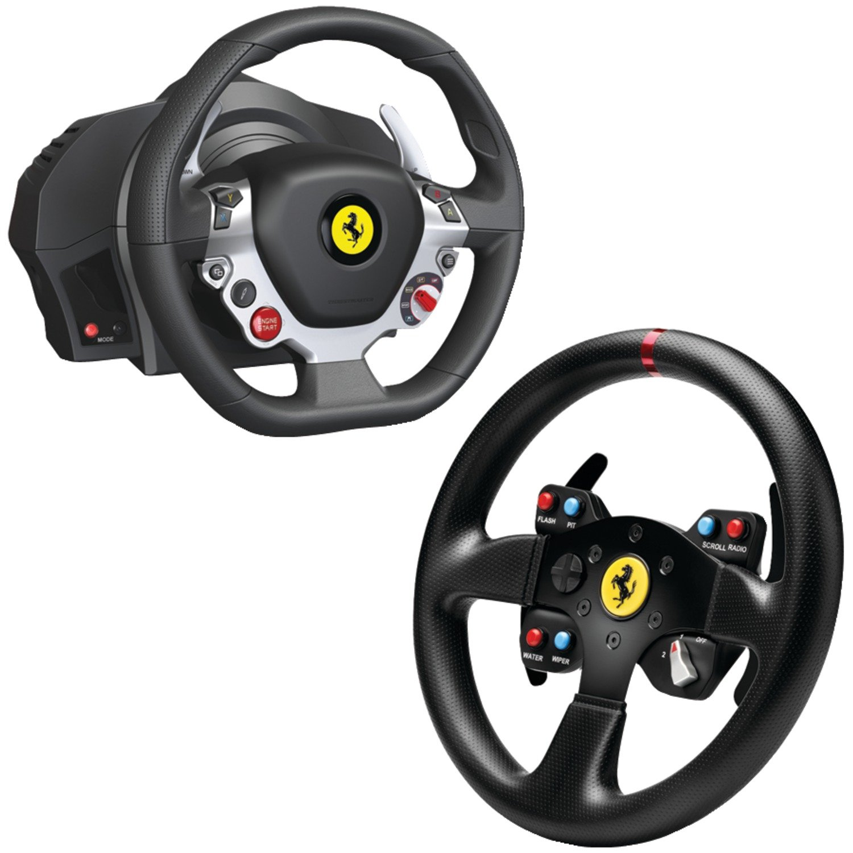 Thrustmaster Xbox One/PC Ferrari 458 Italia Edition TX Racing Wheel with Ferrari GT F458 Challenge Wheel Add-on