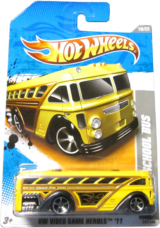 Hot Wheels 2011 '' SURFIN' SCHOOL BUS