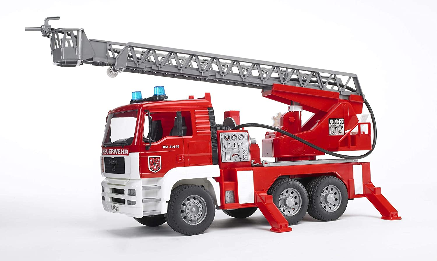 Bruder 02771 MAN Fire Engine with Water Pump, and Light & Sound Module