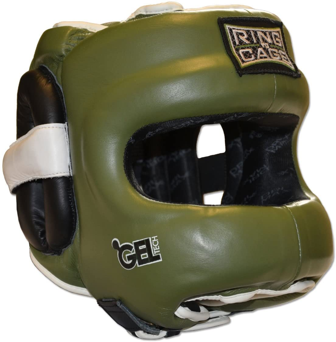 Ring to Cage Deluxe Full Face GelTech Sparring Headgear 2.0