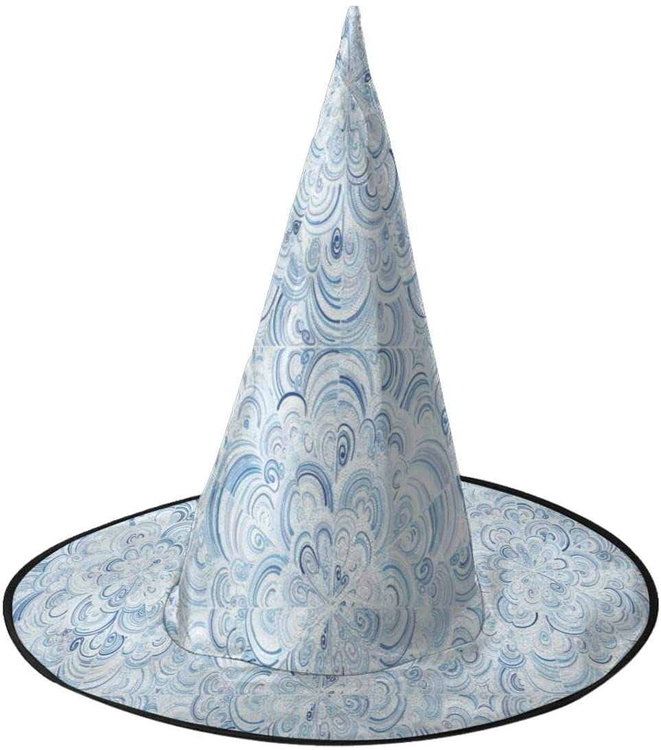 Halloween Witch Hat,Stunning Pattern Accessory Costumes for Halloween Party