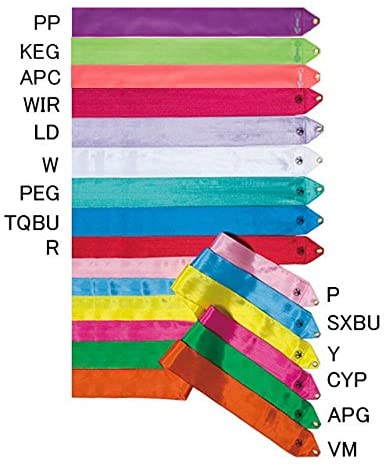 Sasaki - Rhythmic Gymnastics - Rayon Ribbon (4m) - 13 Colors - MJ-714