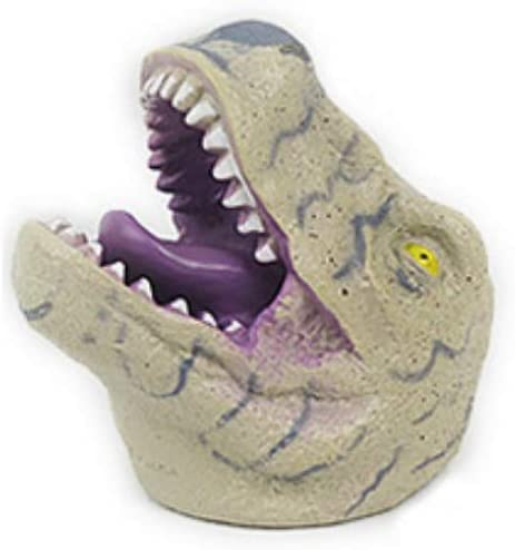 Taykoo Soft Hand Puppet Rubber Realistic Tyrannosaurus Dinosaur Hand Puppet (D)