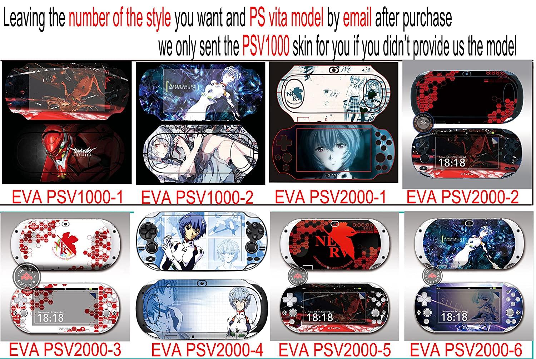 Custom Anime Neon Genesis Evangelion Ps Vita2000 decal Neon Genesis Evangelion Psv2000 Design Decorative Protector Skin Decal& Neon Genesis Evangelion Ps Vita 2000 Stickers