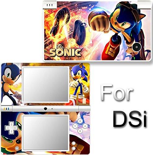 Sonic VINYL SKIN Cover DECAL STICKER #1 for NINTENDO DSi