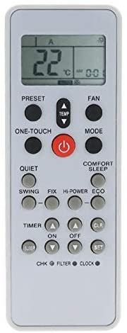 Calvas New Remote Conntrol for Toshiba WC-L03SE Air Conditioner Remote Control