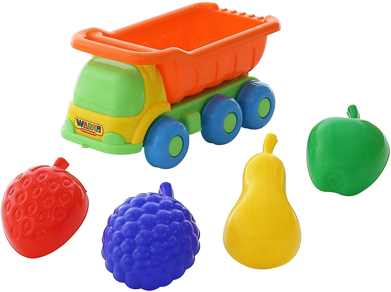 Polesie Polesie57839 Kesha Toy Truck with 4 Fruit Shapes