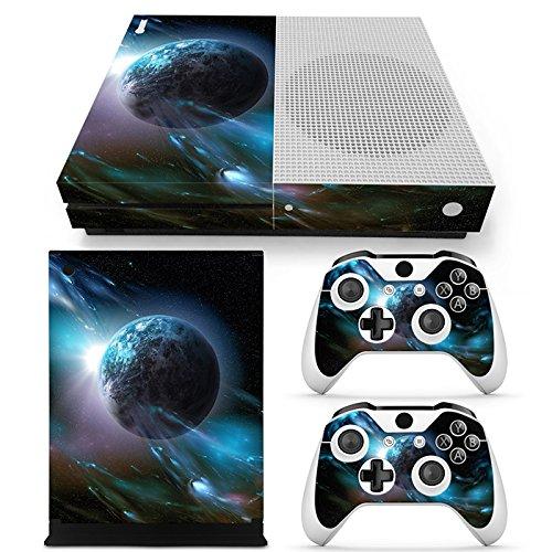 CSBC Skins Xbox One S Design Foils Faceplate Set - Planet Design