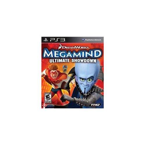 Thq Megamind-Ultimate Showdown Action Adventure Vg Ps3 Platform 2-Player Battle Mega Villains