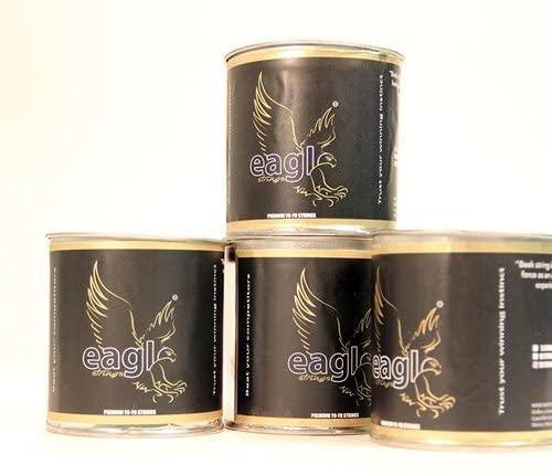 Eagle Wing Premium Polyester Yo-Yo Strings with Carbon Fiber - Heavy Model-Green