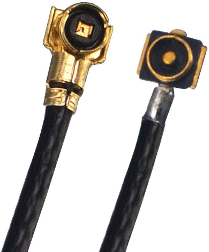 M.2 NGFF U.FL MHF4 IPEX4 IPX4 Female to MHF4 Male Cable 10cm RF Pigtail Cable 0.81MM Low Loss Extension Cable Pack of 2