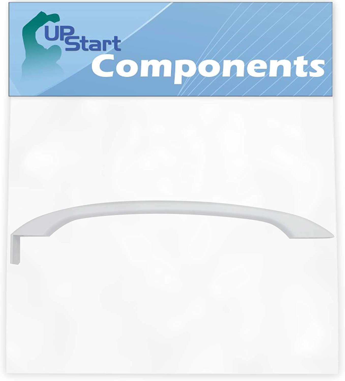 218428101 Refrigerator Door Handle Replacement for Frigidaire MRT18GRGW2 Refrigerator - Compatible with 218428101 White Door Handle - UpStart Components Brand